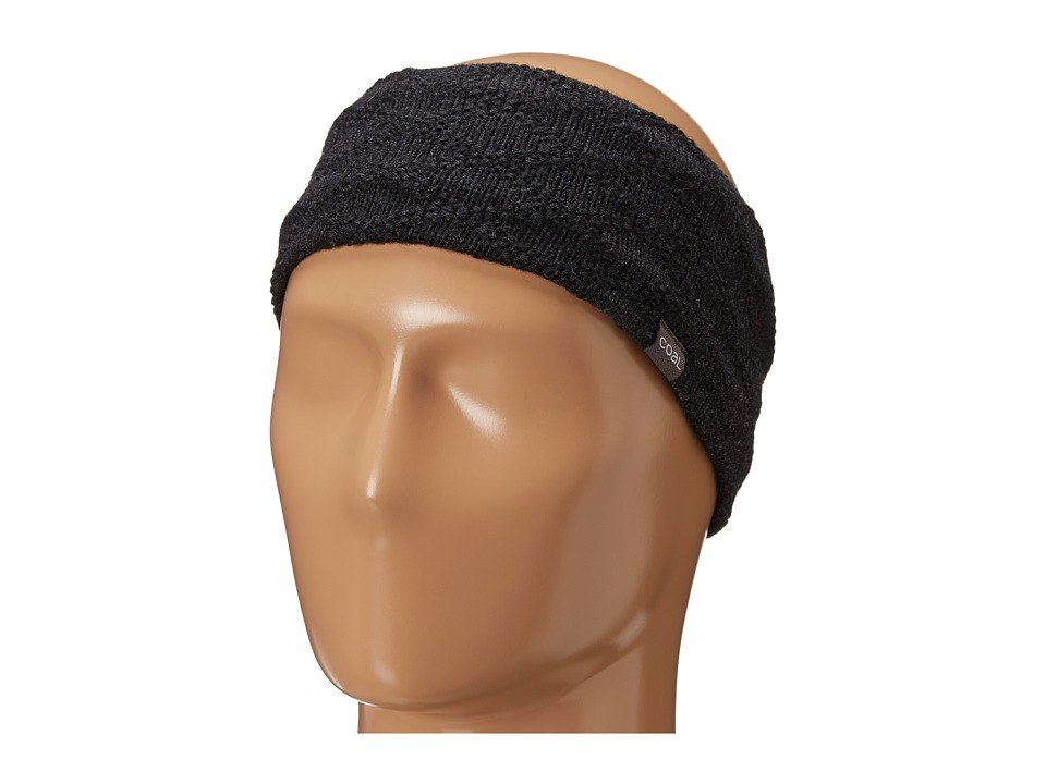 Coal - The Ellis Headband (Charcoal) Knit Hats