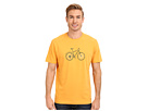 Life is good Outdoor Crusher Tee (Stamped Mountain Bike/Curry Gold)