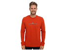 Life is good Outdoor Crusher Long Sleeve (Location Location Location/Fiery Orange)
