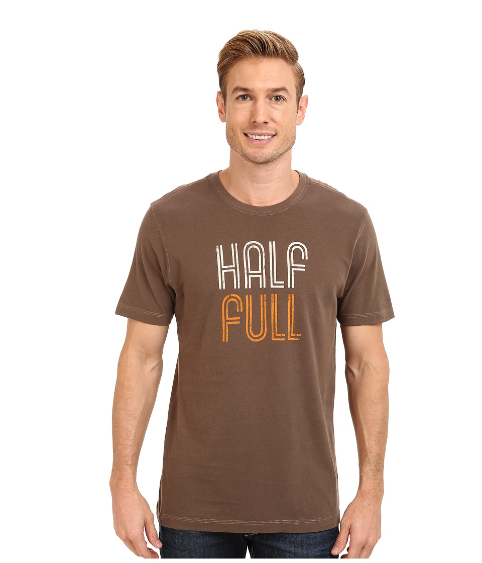 Life is good - Home Slice Creamy Tee (Boot Brown) Men