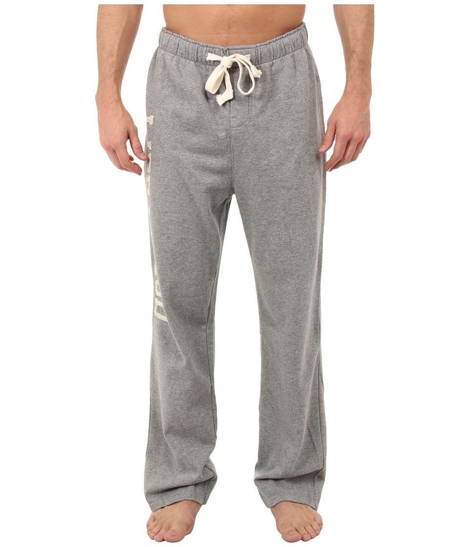 Life is good - Home Slice Fleece Lounge Pant (Heather Gray) Men's Pajama