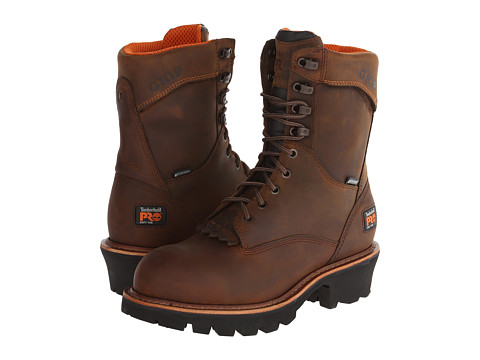 Timberland PRO - Rip Saw Logger (Brown) Men's Work Boots