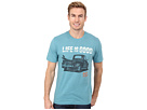 Life is good Beach Cool Tee (LIG Enjoy The Ride/Turquoise Blue)