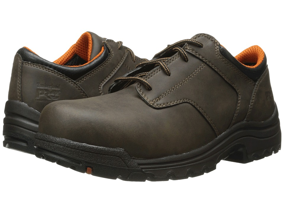 Timberland - Titan Comp Toe Oxford (Brown) Men's Work Boots