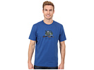 Life is good Sport Crusher Tee (Football Tailgate/Sapphire Blue)