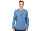 Life is good Outdoor Crusher Long Sleeve (Downhill Ski Jake/Extra Blue)