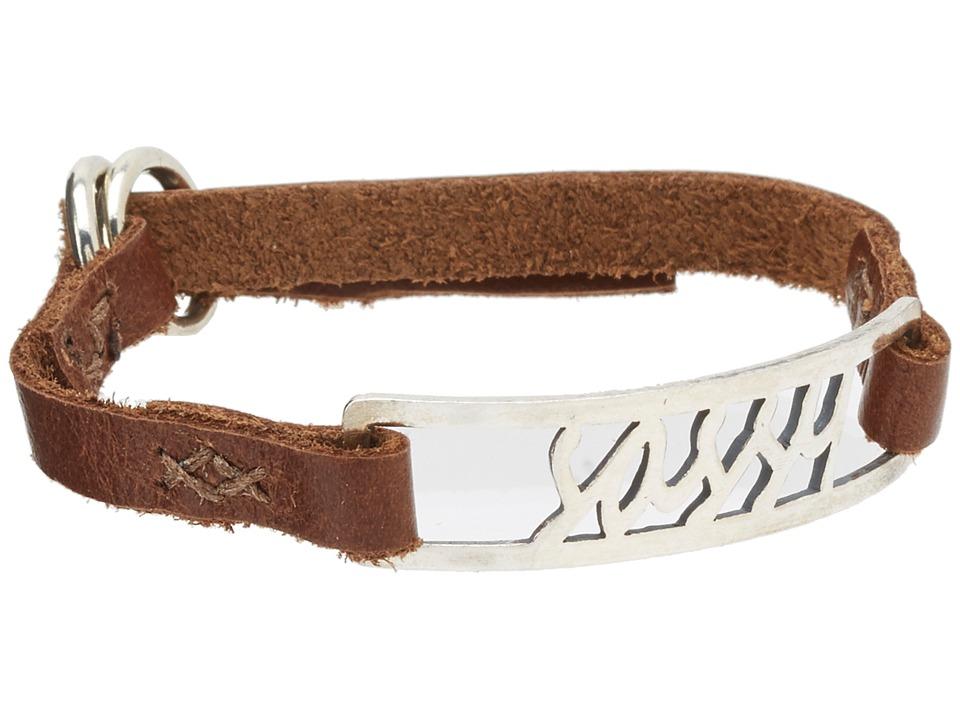 Chan Luu - 8 1/2' Sassy Leather Single Bracelet (Brown) Bracelet