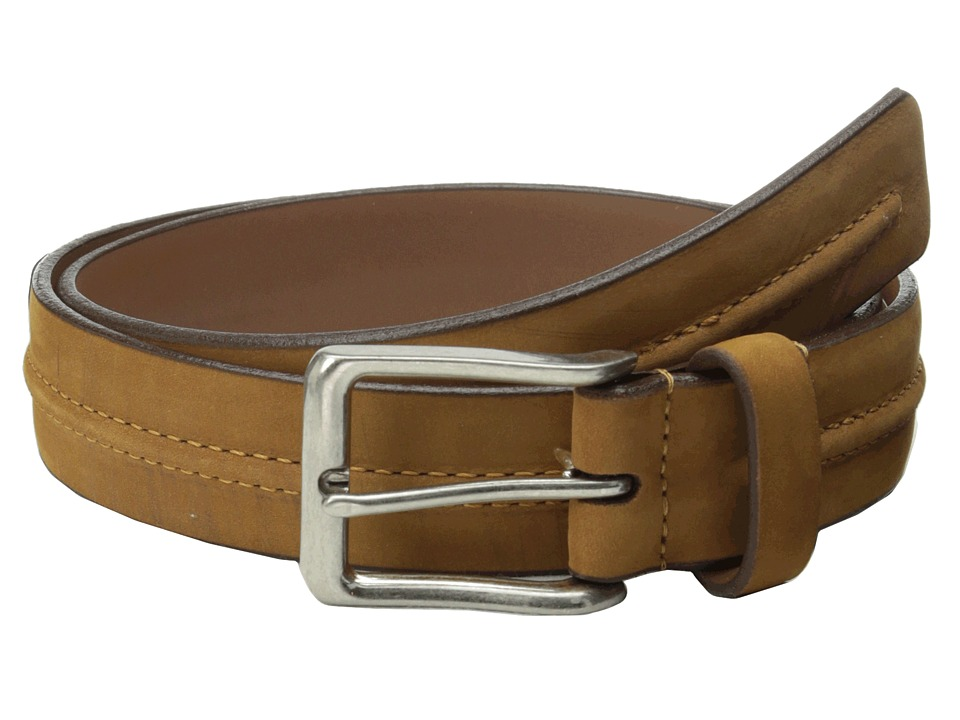 Allen Edmonds - South Fork Belt (Tan Leather) Men's Belts