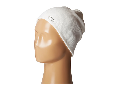 Oakley - Fine Knit Beanie (White) Beanies