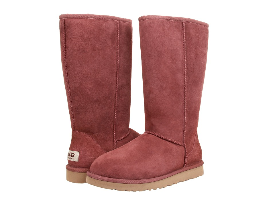 UGG - Classic Tall (Plum Wine) Women's Boots