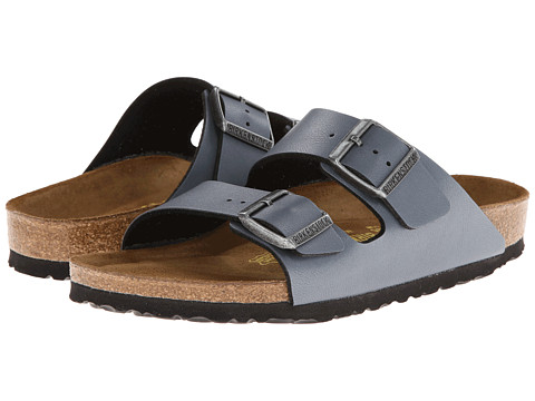 Birkenstock - Arizona Soft Footbed (Onyx Birko-flor) Sandals