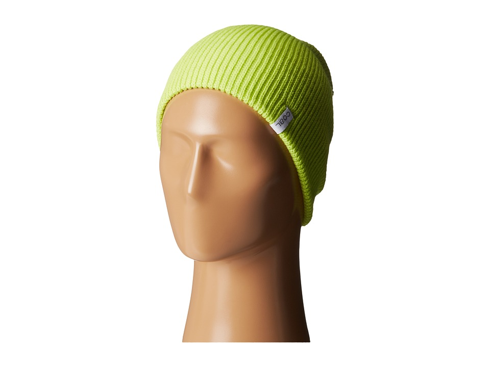 Coal - The Frena Solid (Fluorescent Yellow 1) Beanies