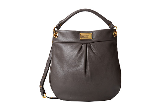 Marc by Marc Jacobs - Classic Q Hillier Hobo (Faded Aluminum 1) Hobo Handbags
