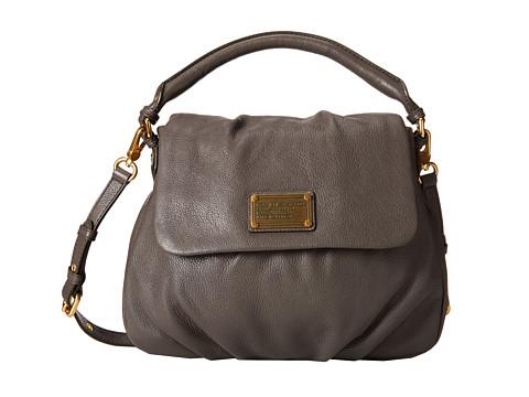 Marc by Marc Jacobs - Classic Q Lil Ukita (Faded Aluminum) Satchel Handbags