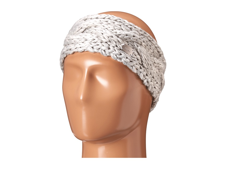 Coal - The Greer Headband (Light Grey) Headband