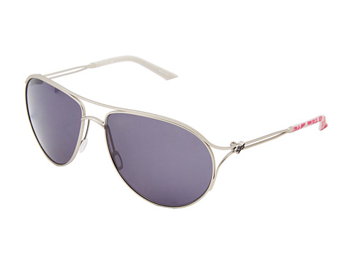 Fox - The Stella (Sat Sliver/Grey) Sport Sunglasses