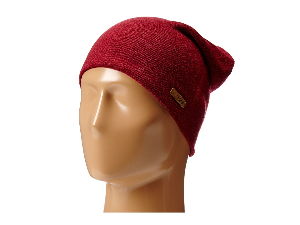 Coal - The Julietta (Burgundy) Beanies