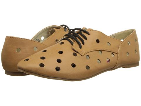 C Label - Harper-2 (Tan) Women's Lace up casual Shoes