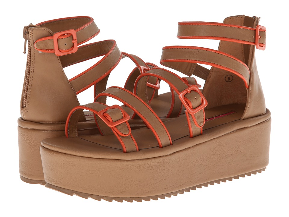 C Label - Mollini-22 (Taupe Multi) Women's Sandals