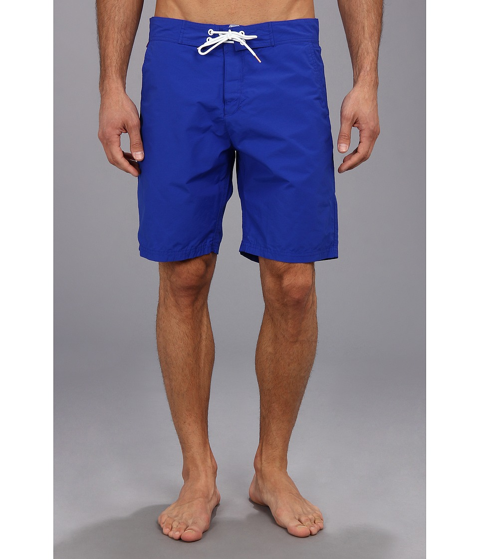 Scotch & Soda - Bright Colored Long Swimshort (Royal) Men's Swimwear