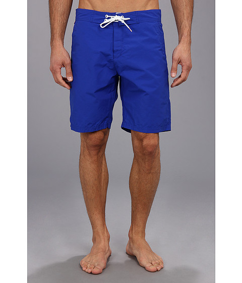 Scotch & Soda - Bright Colored Long Swimshort (Royal) Men