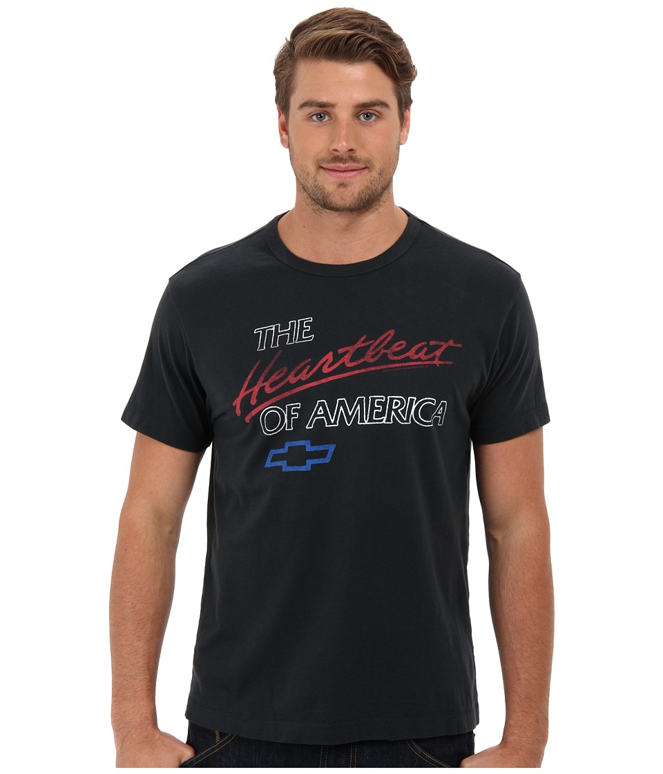 Tailgate Clothing Co. - Heartbeat Tee (Dark Storm) Men's T Shirt