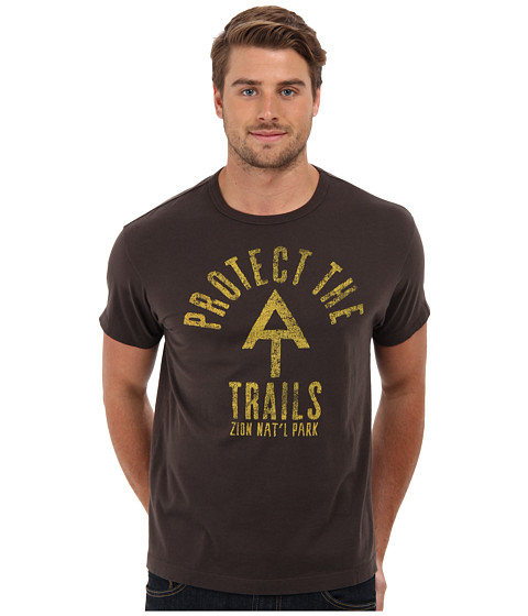 Tailgate Clothing Co. - Protect the Trails Tee (Earth Brown) Men