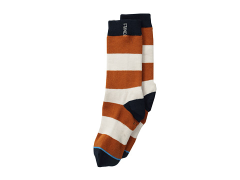 Stance - Waldorf (Kids) (Orange) Crew Cut Socks Shoes