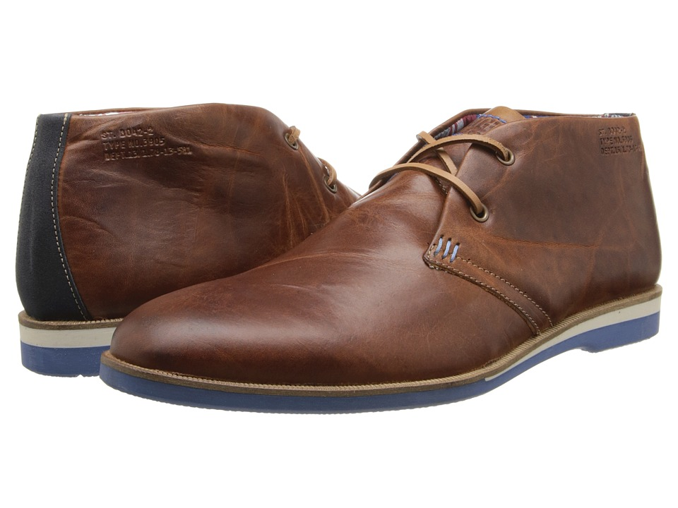 Type Z - Kent (Brown Leather) Men's Lace-up Boots