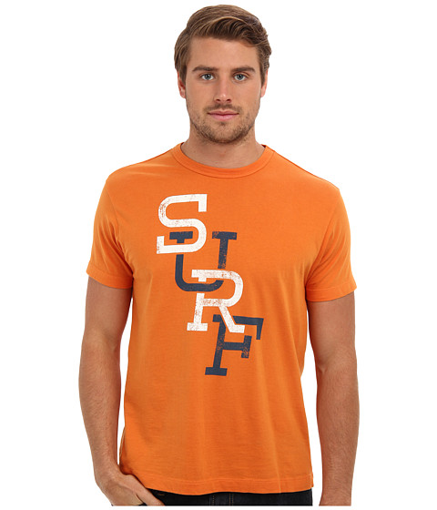 Tailgate Clothing Co. - Surf Tee (Mango) Men's T Shirt