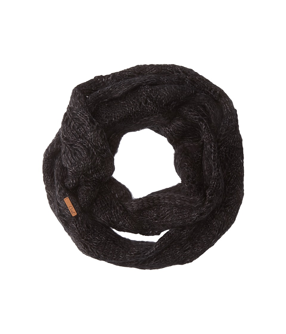 Coal - The Madison Scarf (Heather Black 1) Scarves