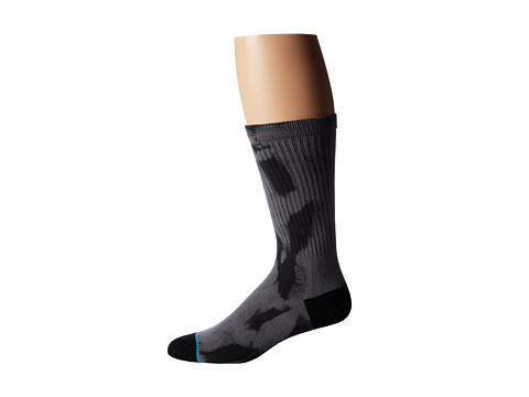 Stance - Carnage (Black) Men's Crew Cut Socks Shoes