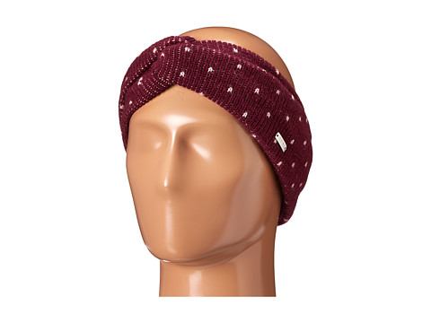 Coal - The Millie Headband (Burgundy 1) Headband