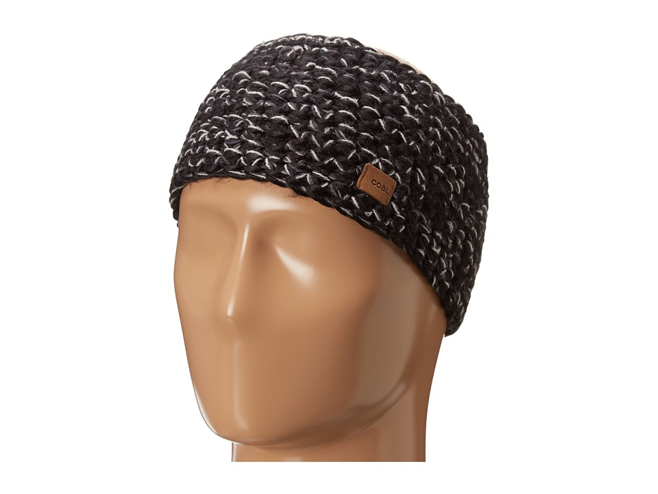 Coal - The Peters Headband (Black 1) Headband