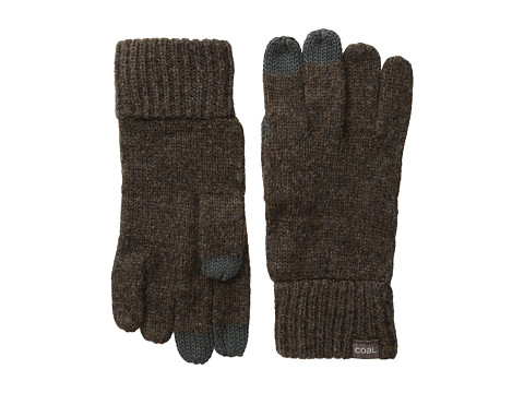 Coal - The Randle Glove (Heather Brown) Wool Gloves