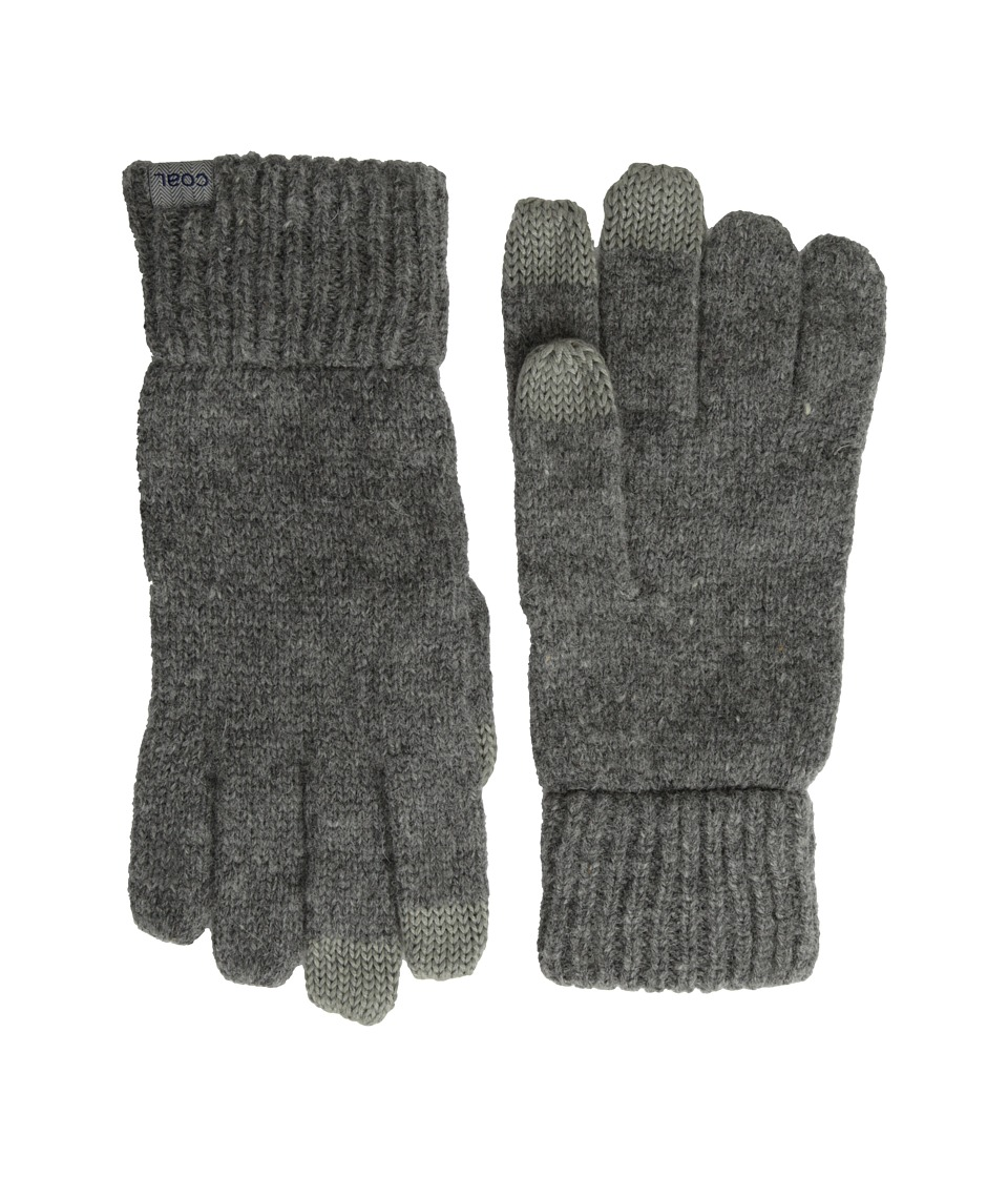 Coal - The Randle Glove (Heather Grey) Wool Gloves