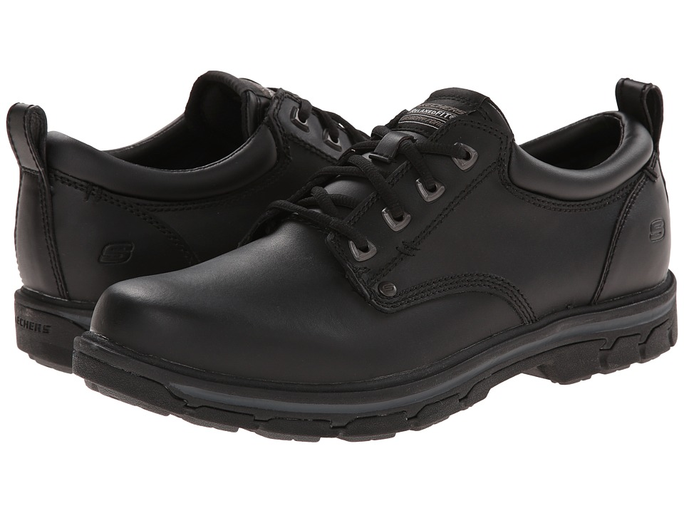 SKECHERS - Segment Relaxed Fit Oxford (Black) Men