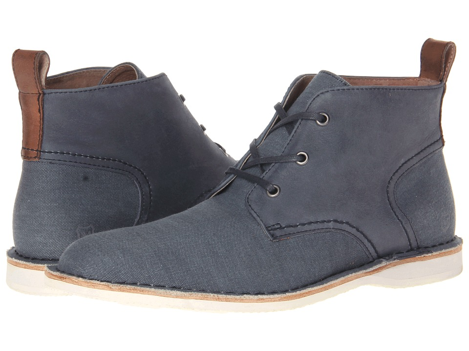 Marc New York by Andrew Marc - Dorchester Chukka (Avion/White/Cymbal Canvas) Men