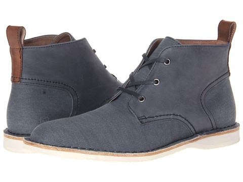 Marc New York by Andrew Marc - Dorchester Chukka (Avion/White/Cymbal Canvas) Men's Lace-up Boots