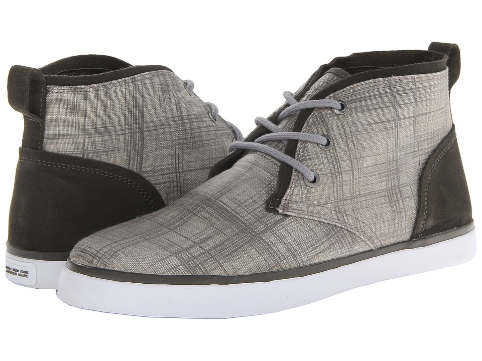 Marc New York by Andrew Marc - Eldridge (Grey/Dark Charcoal/White Textile) Men's Lace up casual Shoes