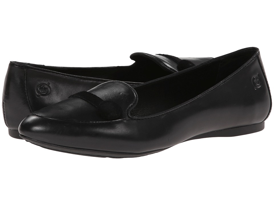 Born - Matilda (Black Full-Grain) Women's Flat Shoes