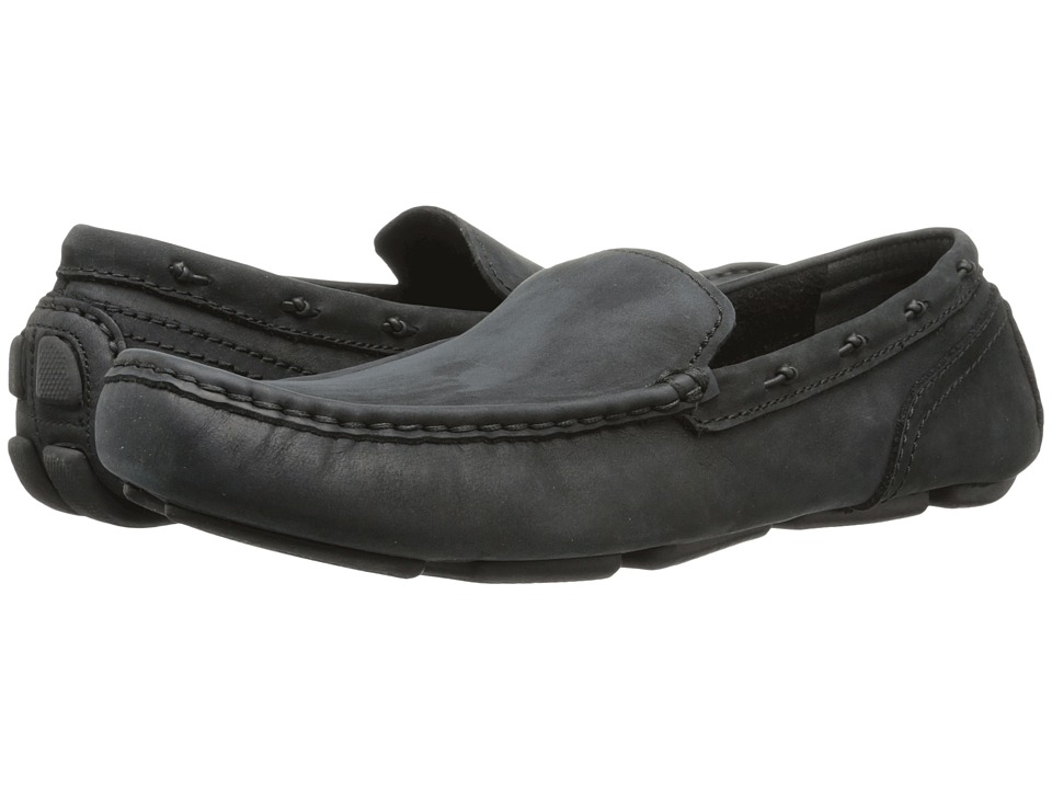 Marc New York by Andrew Marc - Astor (Black Leather) Men's Shoes