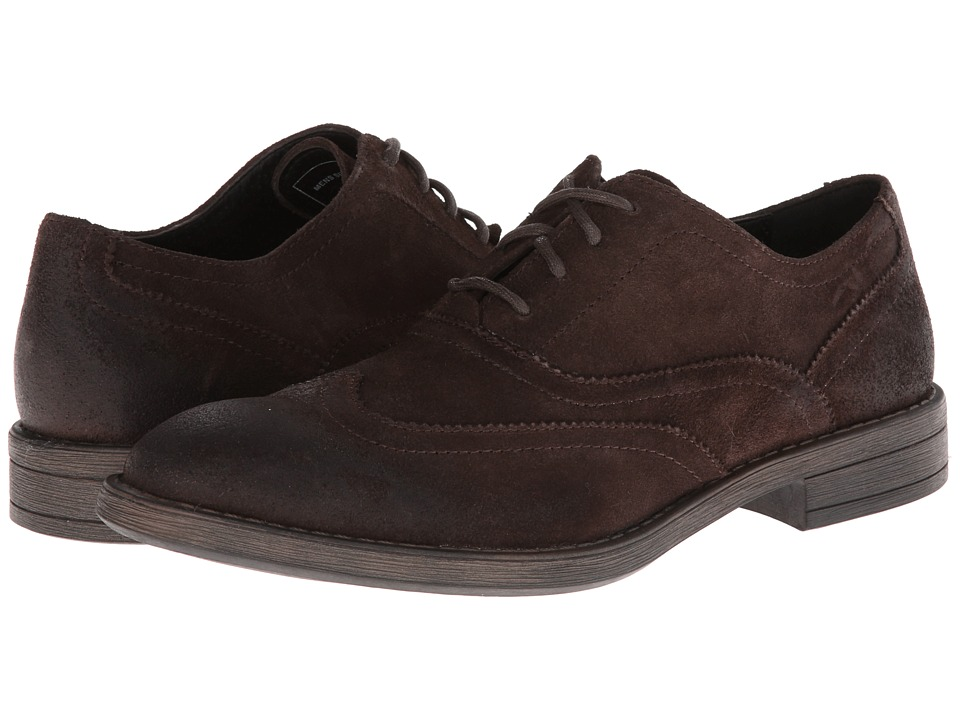 Marc New York by Andrew Marc Vanderbilt (Espresso/Black Suede) Men