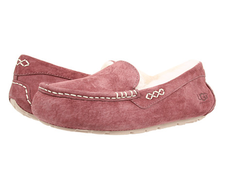 UGG - Ansley (Plum Wine/White) Women's Slippers