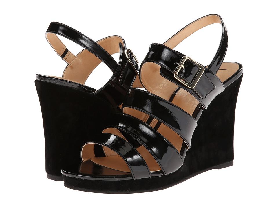 Luichiny - A Dreanne (Black) Women's Wedge Shoes