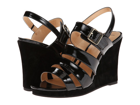 Luichiny - A Dreanne (Black) Women's Wedge Shoes