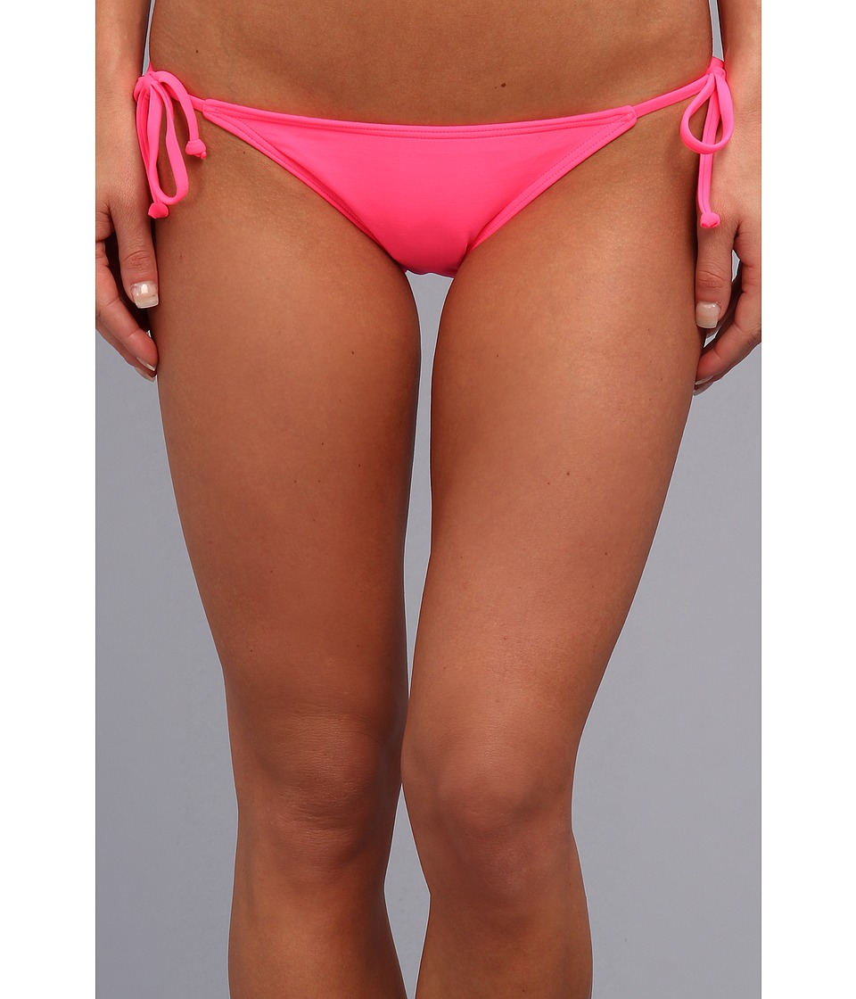 Billabong - Surfside Lowrider (Pop Pink) Women's Swimwear