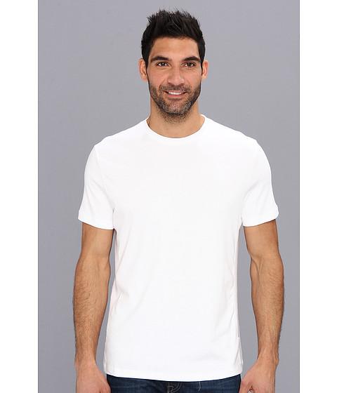 Calvin Klein - S/S 30s Jersey Tee (White) Men's Short Sleeve Pullover