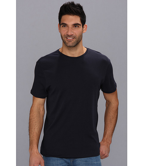 Calvin Klein - S/S 30s Jersey Tee (Officer Navy) Men