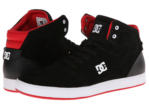 dc shoes high tops red and black. upc 887767656042 product image for dc crisis high (black/red) men\u0027s skate shoes dc tops red and black k